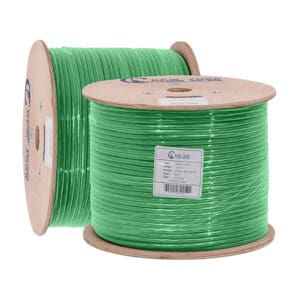 Cat6A plenum green