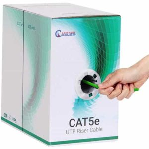 Cat5e riser green 1000ft